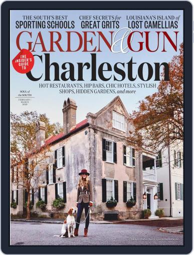 Garden & Gun (Digital) February 1st, 2020 Issue Cover