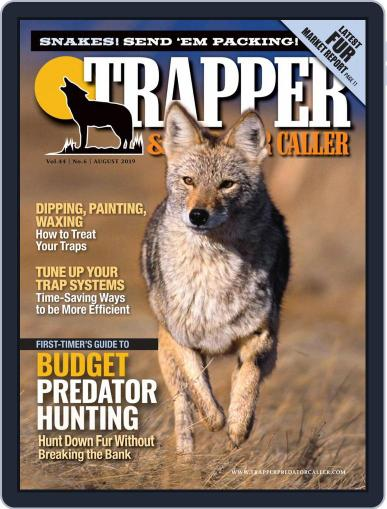 Trapper & Predator Caller August 1st, 2019 Digital Back Issue Cover