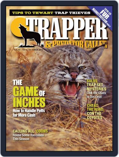 Trapper & Predator Caller October 1st, 2019 Digital Back Issue Cover