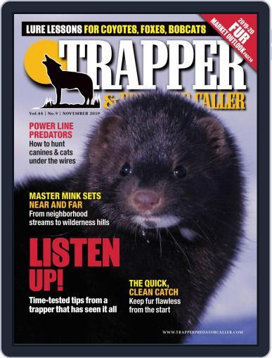 Trapper & Predator Caller November 1st, 2019 Digital Back Issue Cover