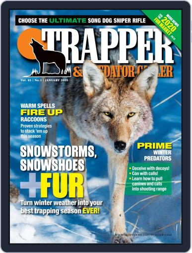 Trapper & Predator Caller January 1st, 2020 Digital Back Issue Cover