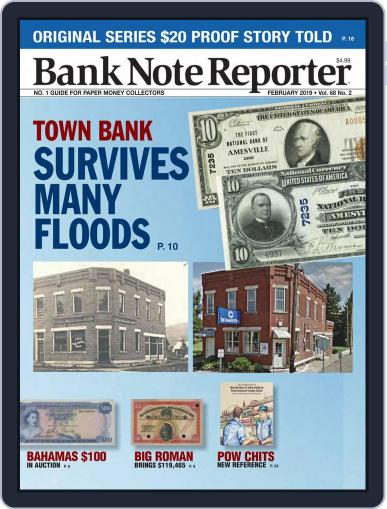 Banknote Reporter February 1st, 2019 Digital Back Issue Cover
