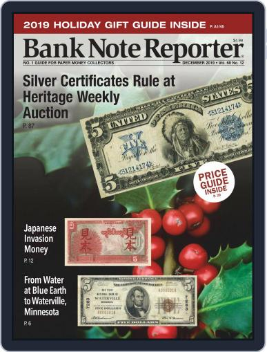 Banknote Reporter December 1st, 2019 Digital Back Issue Cover