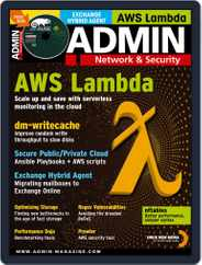 ADMIN Network & Security (Digital) Subscription January 1st, 2020 Issue