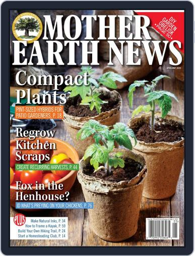 MOTHER EARTH NEWS April 1st, 2020 Digital Back Issue Cover