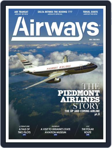 Airways Magazine (Digital) January 1st, 2021 Issue Cover