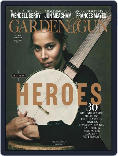 Garden & Gun (Digital) April 1st, 2020 Issue Cover