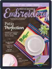 CREATIVE MACHINE EMBROIDERY (Digital) Subscription March 1st, 2020 Issue