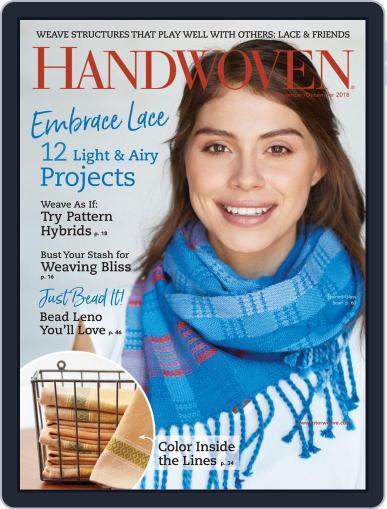 Handwoven (Digital) November 1st, 2018 Issue Cover