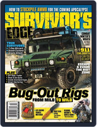 Survivor's Edge (Digital) November 1st, 2019 Issue Cover