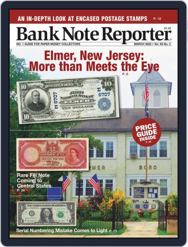 Banknote Reporter March 1st, 2020 Digital Back Issue Cover