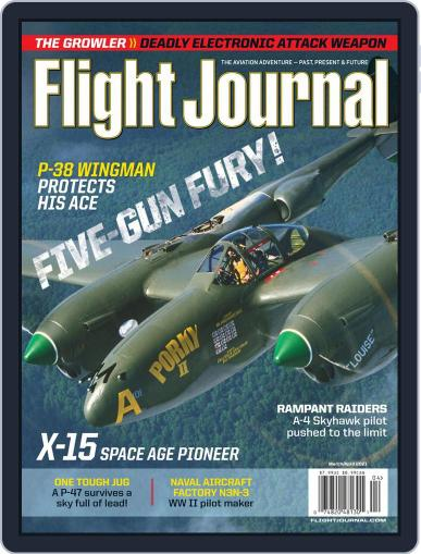Flight Journal Magazine (Digital) March 1st, 2021 Issue Cover