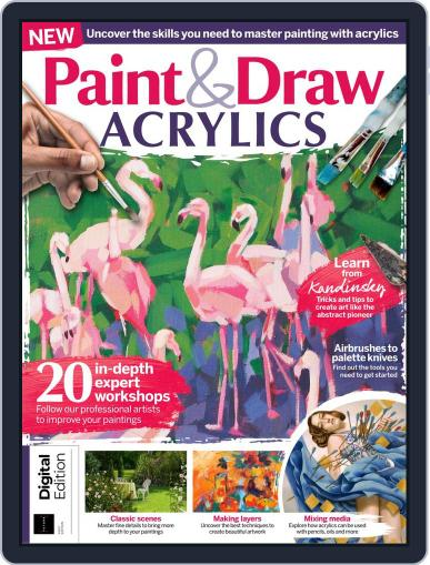 Paint & Draw: Acrylics Magazine (Digital) March 20th, 2020 Issue Cover