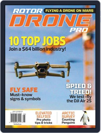 RotorDrone Pro Magazine (Digital) August 1st, 2021 Issue Cover