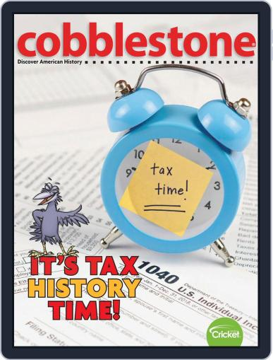 Cobblestone American History and Current Events for Kids and Children (Digital) April 1st, 2020 Issue Cover