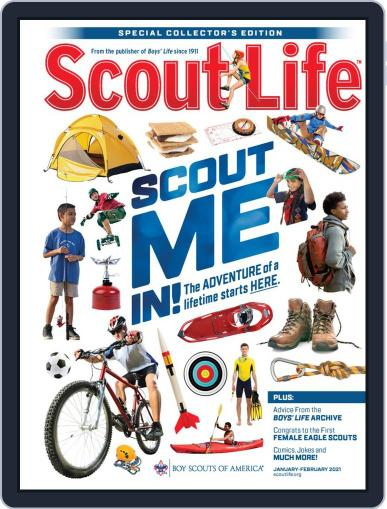 Scout Life January 1st, 2021 Digital Back Issue Cover