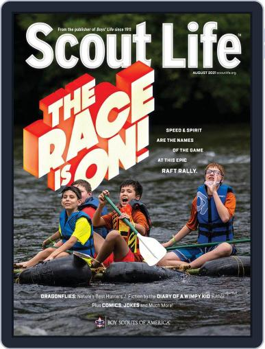 Scout Life August 1st, 2021 Digital Back Issue Cover