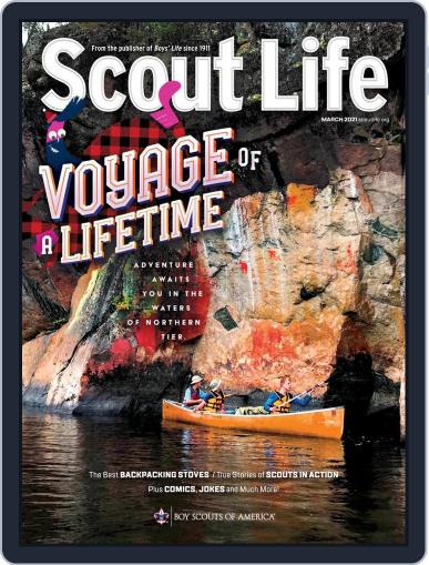 Scout Life March 1st, 2021 Digital Back Issue Cover