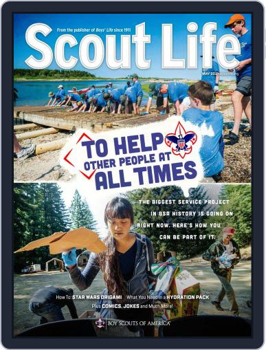 Scout Life May 1st, 2021 Digital Back Issue Cover