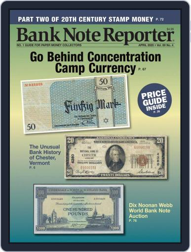 Banknote Reporter April 1st, 2020 Digital Back Issue Cover