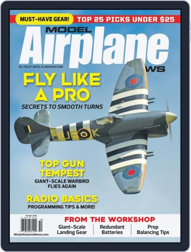Model Airplane News Magazine (Digital) October 1st, 2020 Issue Cover
