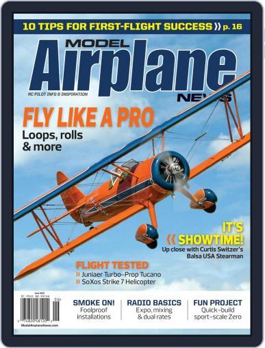 Model Airplane News Magazine (Digital) June 1st, 2021 Issue Cover