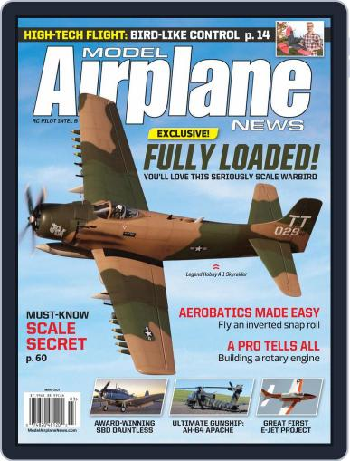 Model Airplane News Magazine (Digital) March 1st, 2021 Issue Cover