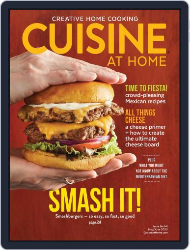 Cuisine at home (Digital) May 1st, 2020 Issue Cover