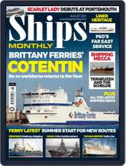 Ships Monthly Magazine (Digital) Subscription August 1st, 2021 Issue