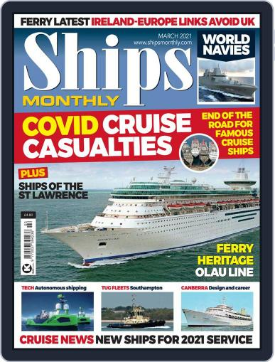 Ships Monthly Magazine (Digital) March 1st, 2021 Issue Cover