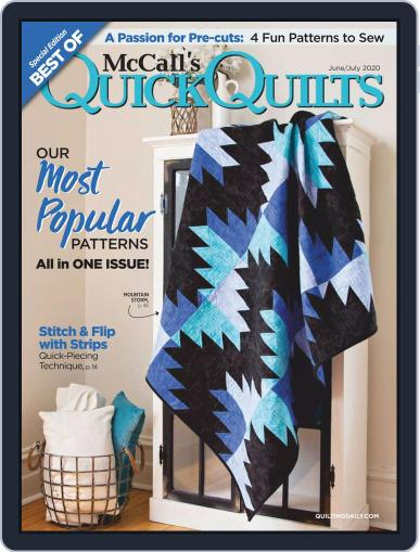 QUICK QUILTS (Digital) June 1st, 2020 Issue Cover