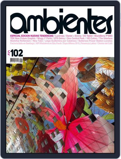 Revista Ambientes November 1st, 2014 Digital Back Issue Cover