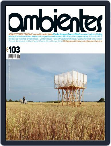 Revista Ambientes January 1st, 2015 Digital Back Issue Cover