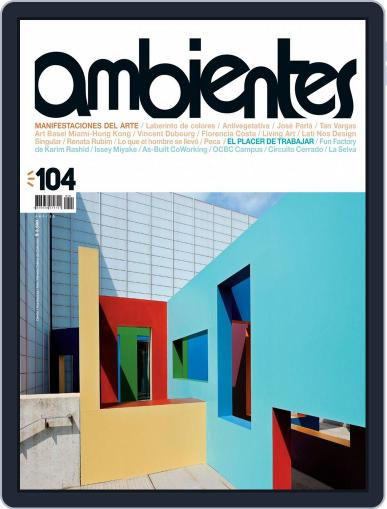Revista Ambientes April 5th, 2015 Digital Back Issue Cover