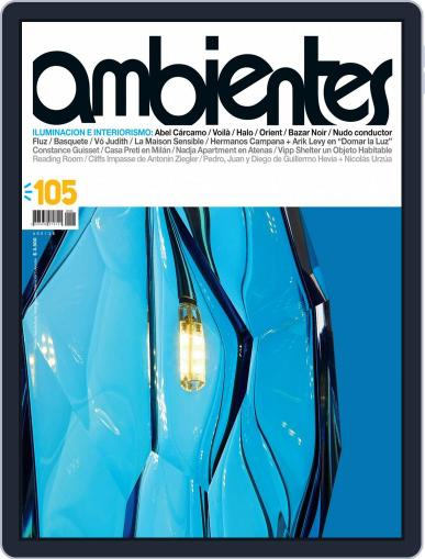 Revista Ambientes May 1st, 2015 Digital Back Issue Cover