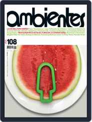 Revista Ambientes (Digital) Subscription December 1st, 2015 Issue
