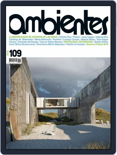 Revista Ambientes January 1st, 2016 Digital Back Issue Cover