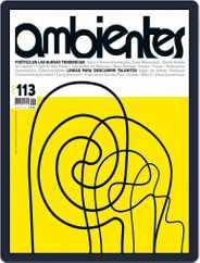 Revista Ambientes (Digital) Subscription October 13th, 2016 Issue