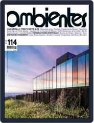 Revista Ambientes (Digital) Subscription November 1st, 2016 Issue