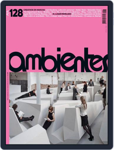 Revista Ambientes March 1st, 2019 Digital Back Issue Cover