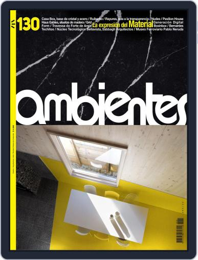Revista Ambientes August 3rd, 2019 Digital Back Issue Cover
