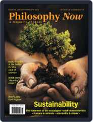 Philosophy Now (Digital) Subscription January 17th, 2012 Issue