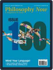 Philosophy Now (Digital) Subscription February 6th, 2014 Issue