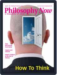 Philosophy Now (Digital) Subscription January 20th, 2015 Issue