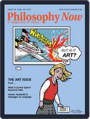 Philosophy Now (Digital) Subscription May 1st, 2015 Issue