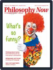 Philosophy Now (Digital) Subscription November 1st, 2015 Issue