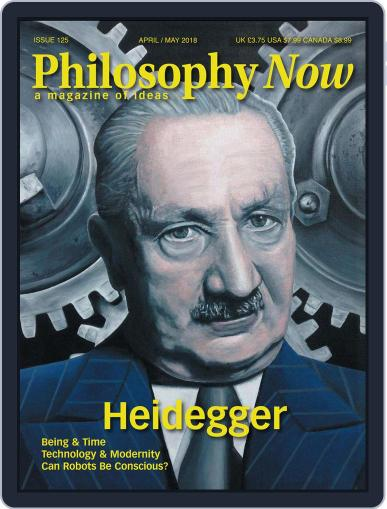 Philosophy Now (Digital) April 1st, 2018 Issue Cover