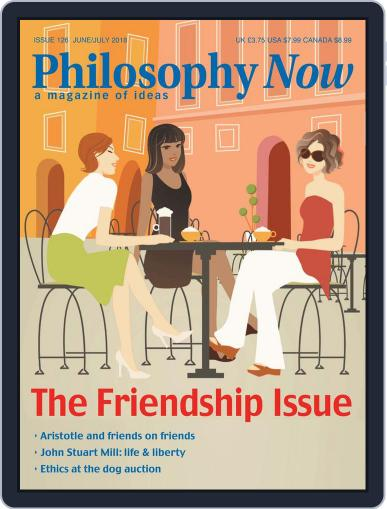 Philosophy Now (Digital) June 1st, 2018 Issue Cover