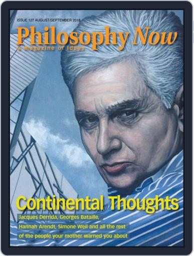 Philosophy Now August 1st, 2018 Digital Back Issue Cover