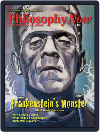 Philosophy Now October 1st, 2018 Digital Back Issue Cover